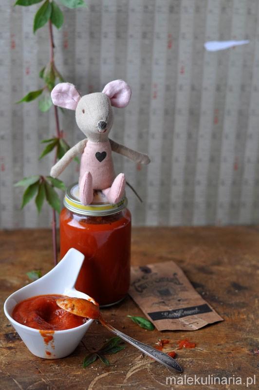 Jak zrobić sos pomidorowy dla dzieci Kinga Ciszewska malekulinaria.pl