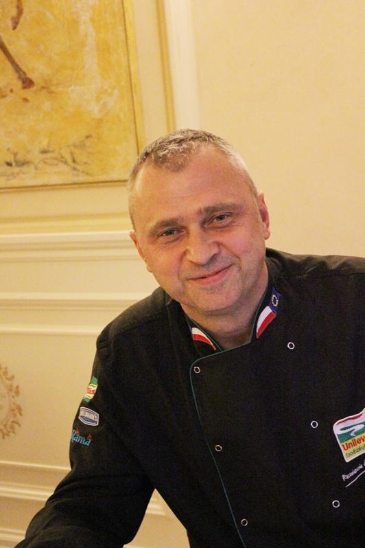 Artur Góra, szef kuchni w BelEtage