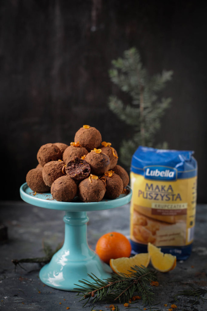 trufle czekoladowo pomarańczowe