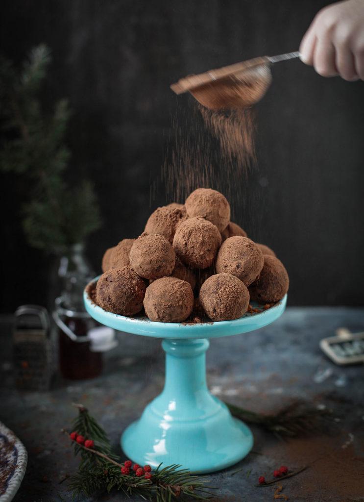 czekoladowe trufle